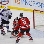 NHL: Kings Stun Devils with 2 Late Goals