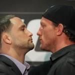 Photos: UFC 136 – Edgar-Maynard 3 Final Presser