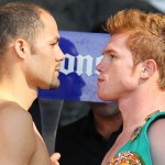 Alvarez-Cintron Weigh-In in Mexico City